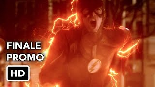 "The Flash 3x23 ""Finish Line"" Season 3 Episode 23 Promo (Season Finale) - SEASON FINALE - With nothing left to lose, Barry (Grant Gustin) takes on Savitar in an epic conclusion to season three. David McWhirter directed the episode written by Aaron Helbing & Todd Helbing (#323). Original airdate 5/23/2017."