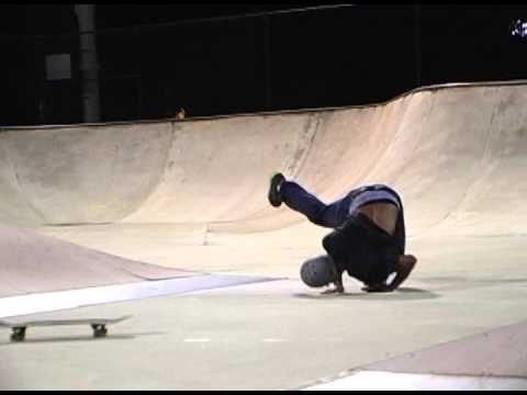 Vince Harris at Gardens Skatepark