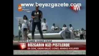 Burcu Burkut Erenkul - ATV - Ana Haber Bülteni - Güneş Enerjili Otomobil Yarışları - 2010