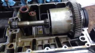 3. BMW K1200LT play on the engine output shaft