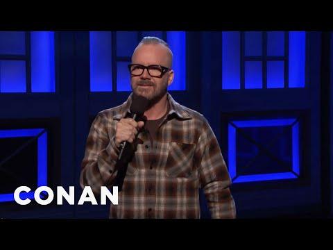 Dean Delray Stand-Up 08/27/18  - CONAN on TBS - Thời lượng: 5 phút, 8 giây.