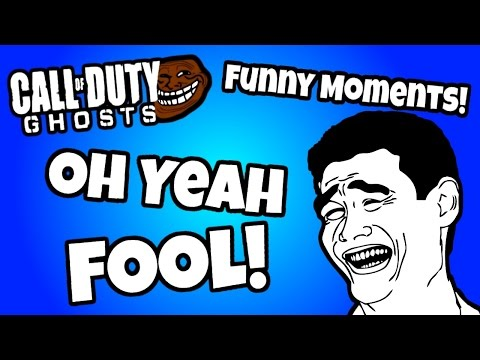 Jerome Plays CoD Ghosts ~ Oh Yeah Fool!