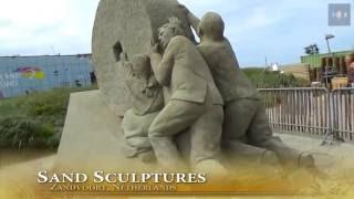 Zandvoort Netherlands  city photos gallery : European Championship Sand Sculpting Zandvoort Netherlands 2016