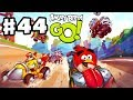 Angry Birds Go! Gameplay Walkthrough Part 44 - So Many Gems! Stunt (iOS, Android)