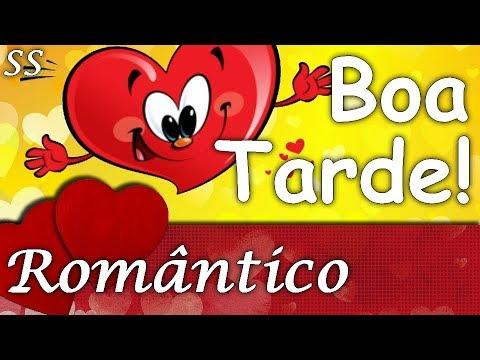 Mensagens para whatsapp - Boa Tarde! Linda mensagem romântica cheia de corações sorridentes! Whatsapp/Facebook