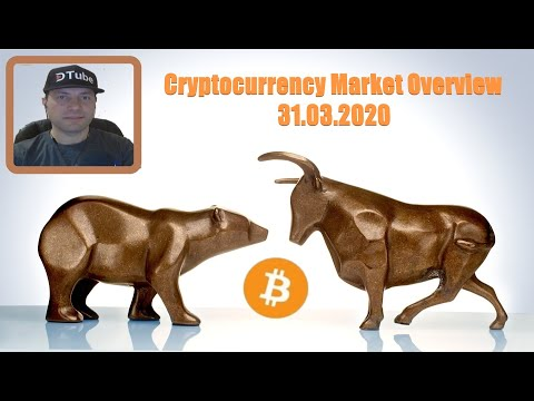 Cryptocurrency Market Overview (EN) | 31.03.2020 by @cryptospa