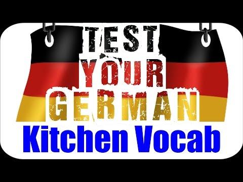 GERMAN EXERCISE / TEST #4 (+Answers) 🇩🇪 | Kitchen Vocabulary | VlogDave