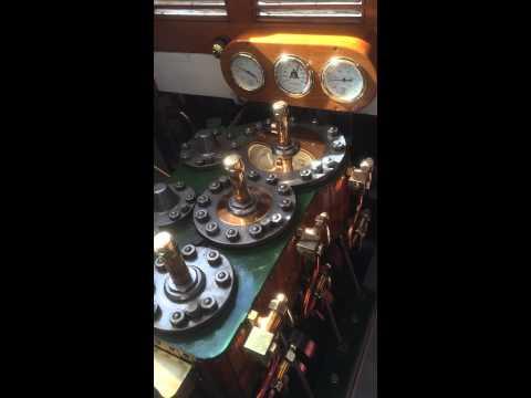 Listen to the pistons on Windsor belle