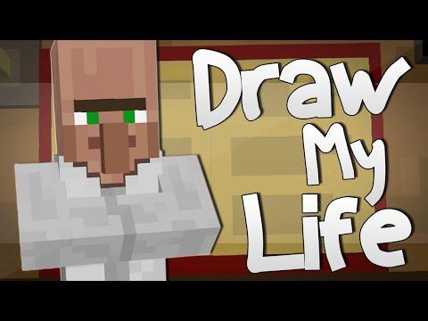 DR TRAYAURUS' DRAW MY LIFE | Minecraft