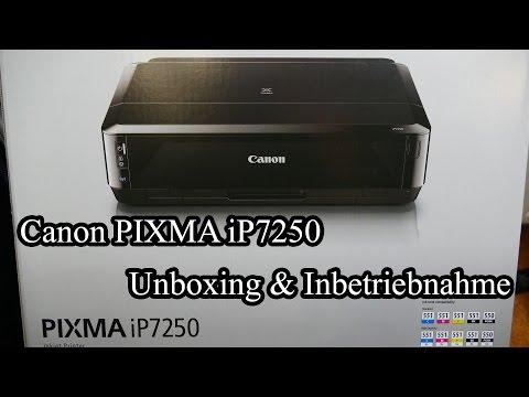 Canon PIXMA iP7250 [Unboxing & Inbetriebnahme]