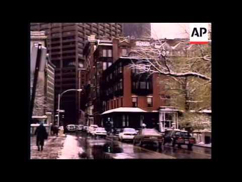 USA: BOSTON: AMERICAN IRISH REACTION TO POSSIBLE PEACE IN N IRELAND
