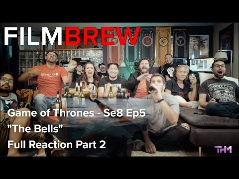 "Game of Thrones - Se8 Ep5 - ""The Bells"" - Reaction - Full Reaction Part 2"