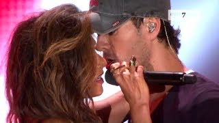 Video Enrique Iglesias, Nicole Scherzinger - Heartbeat (LIVE HD) MP3, 3GP, MP4, WEBM, AVI, FLV Maret 2018