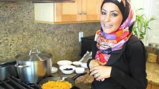 طرز تهیه کابالی پلو افغانی Kabli Pulao