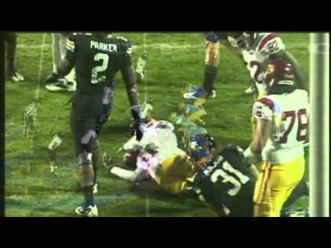 Jon Major vs USC & UCLA 2011 video.