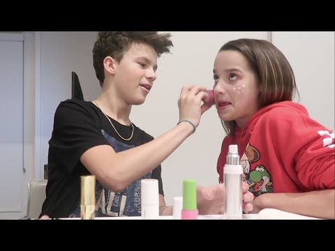 The Mostly Bloopers Makeup Video | Annie LeBlanc