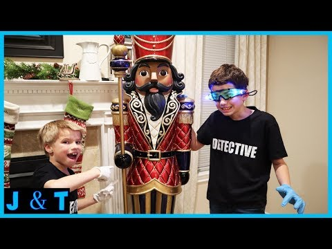 The Toy Collector uses the Nutcrakers to spy on us! Spy Detetive Case 3 - Jake and Ty