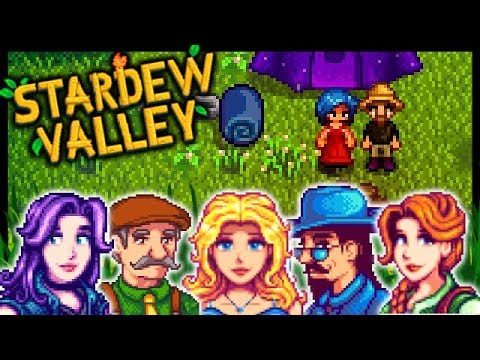 SECRET WOODS CAMPING WITH EMILY! | Stardew Valley Modded #71