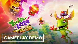 Yooka-Laylee and the Impossible Lair is a Speed Runner's Dream - Gamescom 2019 by IGN