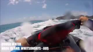 10. 2018 Seadoo RXTX 300 RS:  Rough water - Hook Island, Whitsundays, Australia