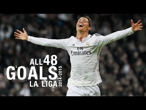GOALS | Watch All 48 Of Cristiano Ronaldo's 2014/15 La Liga Goals!