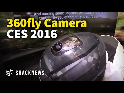 CES 2016: 360fly 4K HD Camera Demo (видео)