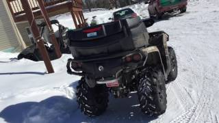 10. Can-am Outlander 570 XT walk around