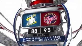 WNBA Recap: CHI@IND by WNBA