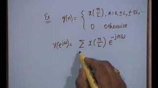 Lecture - 8 Discrete Time Fourier Transform