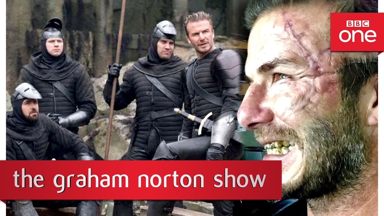 David Beckham's cameo in King Arthur – The Graham Norton Show 2017: Episode 6 Preview – BBC One