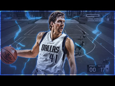 99 OVERALL DIRK NOWITZKI is UNSTOPPABLE on NBA 2K19!