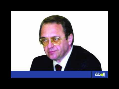 Al-Watan's alleged interview with Bogdanov (in Arabic)