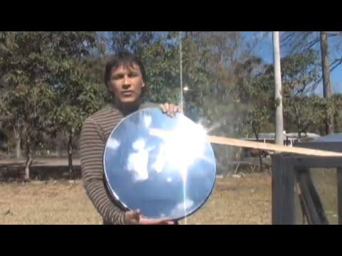 fatevi una cucina solare utilizzando una vecchia parabola