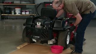 9. How to Change the Oil on a Toro® Zero Turn Mower
