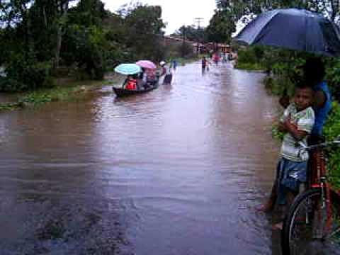 Enchente em Itapecuru Mirim, Maranhão