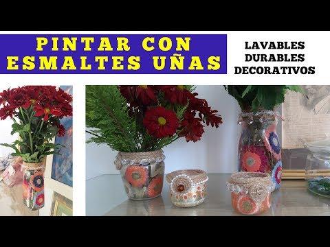 Diseños de uñas - PINTANDO CON ESMALTES DE UÑAS/ Primera experiencia