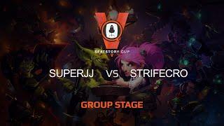 SuperJJ vs StrifeCro, game 1