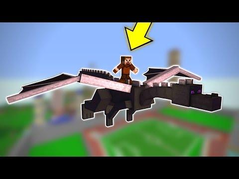 FAKİR EJDERHA SÜRÜYOR! 😱 - Minecraft