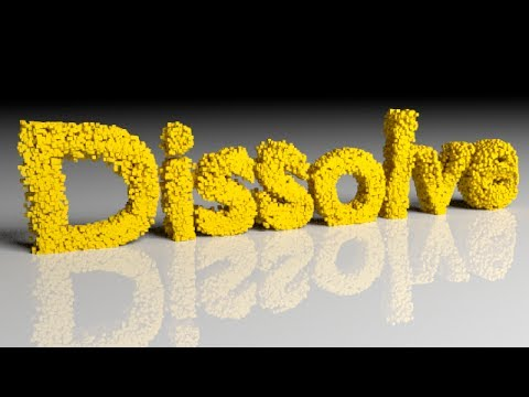 blender - http://www.LittleWebHut.com This Blender video demonstrates how to make an animation of text falling apart and dissolving. Blender version 2.69 was used for this tutorial. This video shows...