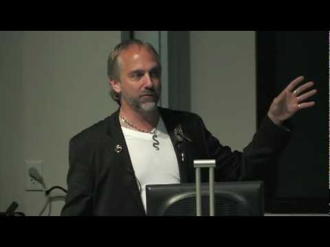 Richard Garriott Gastgeber Man on a Mission Screening für UT Ingenieurstudenten