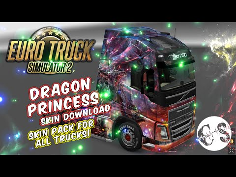 Dragon Princess Skin Pack for All Trucks + Volvo Ohaha