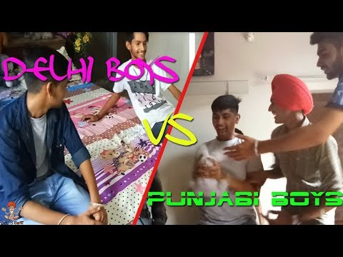 Delhi Boys vs Punjabi Boys ||Viners Baba||