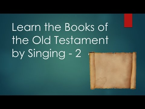 Books of the Bible Song (and Video) - Ministry-To-Children ...