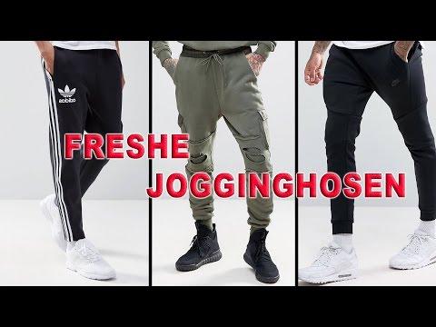 Wie trägt man Jogginghosen ?!