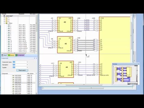 E3.series: Electrical wiring, control systems and fluid engineering software