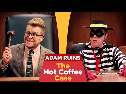 mcdonalds coffee too hot Liebeck v mcdonald's restaurants, also known as the mcdonald's coffee case and the hot coffee lawsuit, was a 1994 product liability lawsuit that became a flashpoint.