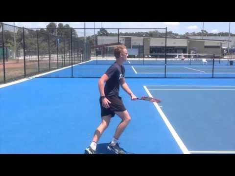Alex De Jong - 2017 US College Tennis Prospect