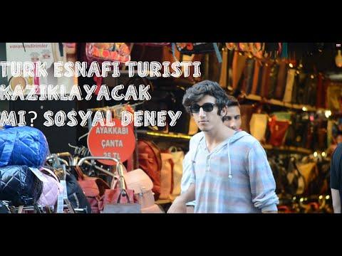 Türk Esnafı Turistleri Kazıklıyor mu? -Sosyal Deney