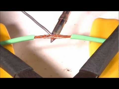 How to solder - THANKS FOR WATCHING! PLEASE RATE, COMMENT AND SUBSCRIBE!!! A quick video I made explaining the basics of the art of soldering. This video is part 1 in a 2 pa...