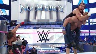 Aj Styles VS Dean Ambrose VS John Cena - WWE No Mercy 2016 - (EN VIVO) -